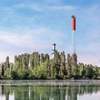 Centrale termoelettrica di Ponti sul Mincio: un giardino-belvedere a 150 m di altezza