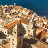 visitcefalu - un logo per uno dei borghi più belli d'Italia