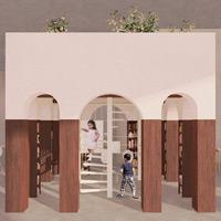 Itabashi Calls Bologna: vince il Biblioportico di Negrini Lindvall Architettura