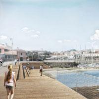 Stintino: il progetto di Spaziozero Atelier ridisegna il waterfront e il nuovo molo traghetti