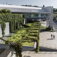 La fabbrica-giardino di Prada firmata Guido Canali apre a Valvigna