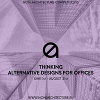 Thinking - Alternative designs for offices: soluzioni alternative per l'ufficio del domani