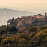 Svela il paesaggio a Montalcino in un disegno en plein air