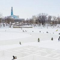 Warming Huts 2019. Tre piccole architetture sul ghiaccio da costruire in Canada