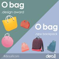 O bag design award - O bag new backpack: il brand delle iconiche borse componibili cerca nuovi modelli