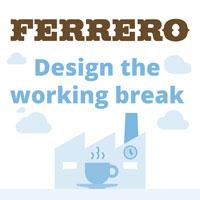 Ferrero - Design the working break: complementi di arredo per le sale relax degli stabilimenti più dolci d'Italia