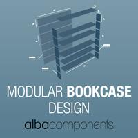 Modular Bookcase Design: una libreria versatile per lo storico brand AlbaComponents