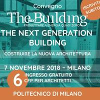 The next Generation Building. Costruire la nuova architettura