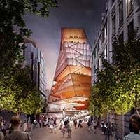 London Center for Music. Diller Scofidio + Renfro firmano il futuro polo culturale dedicato alla musica nel cuore di Londra