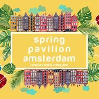 Spring Pavilion Amsterdam: l'essenza della primavera in un padiglione