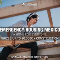 Emergency Housing Mexico: sistemi abitativi di emergenza per rispondere alla crisi abitativa dell'America Latina