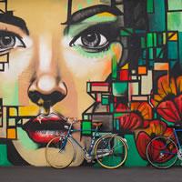 Street Art per un fabbricato nel pieno centro di Casalgrande