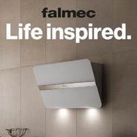 Falmec. Life Inspired: cappe aspiranti tra innovazione tecnologica e design