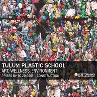 Tulum Plastic School. Una scuola di plastica sulla costa per promuovere il riciclo in Messico