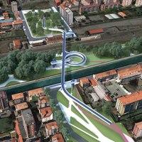 Attra/verso San Cristoforo: lo studio AOUMM si aggiudica il concorso per la passerella e l'hub intermodale a Milano