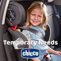 Temporary Needs. Concept di seggiolini auto richiudibili per Chicco