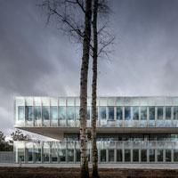 La Chambre de Métiers et de l'Artisanat Hauts-De-France a Lille, il monolite quadrangolare di KAAN Architecten e PDAA