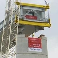 Nuovo ponte sul Polcevera: varato in quota il primo impalcato