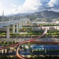 Genova, Parco del Ponte tra memoria e futuro: sarà carbon neutral e attraversato da un cerchio rosso