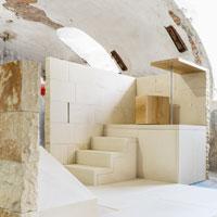 Premio Federico Maggia 2019 a Gravitazioni, la stanza di pietra che riqualifica i grandi spazi dismessi