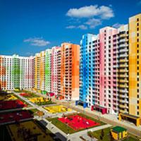 Massimo Iosa Ghini porta i colori nella periferia della città di Mosca