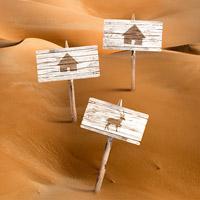 Mega Dunes Ecolodges. Piccoli rifugi sostenibili per ammirare da vicino i rarissimi esemplari di orice d'Arabia