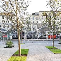 Napoli, riconsegnata Piazza Garibaldi: 60mila mq firmati Dominique Perrault
