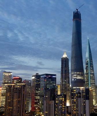 Shanghai Tower: in via di ultimazione il secondo grattacielo più alto al mondo