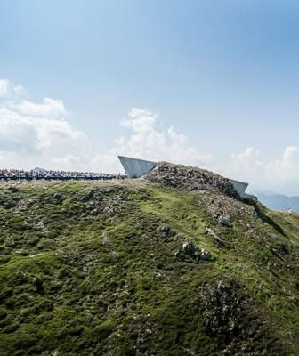 """Apre in Alto Adige il sesto e più """"alto"""" museo Messner firmato Zaha Hadid"""