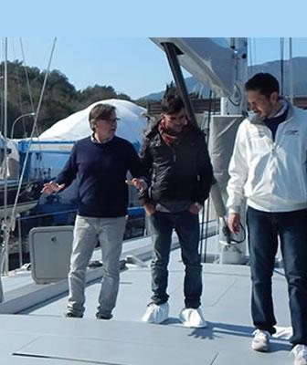 Master interior Yacht Design
