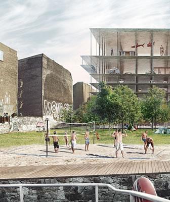 Residenze universitarie a Berlino: l'idea vincente ispirata alla temporaneità del camping