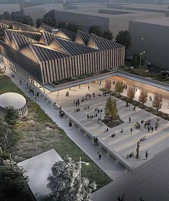 David Adjaye si aggiudica il museo di arte contemporanea a Riga