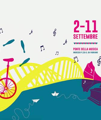 """Ponte della Musica di Roma è il palcoscenico urbano di """"Aperti per Ferie"""" 2016"""